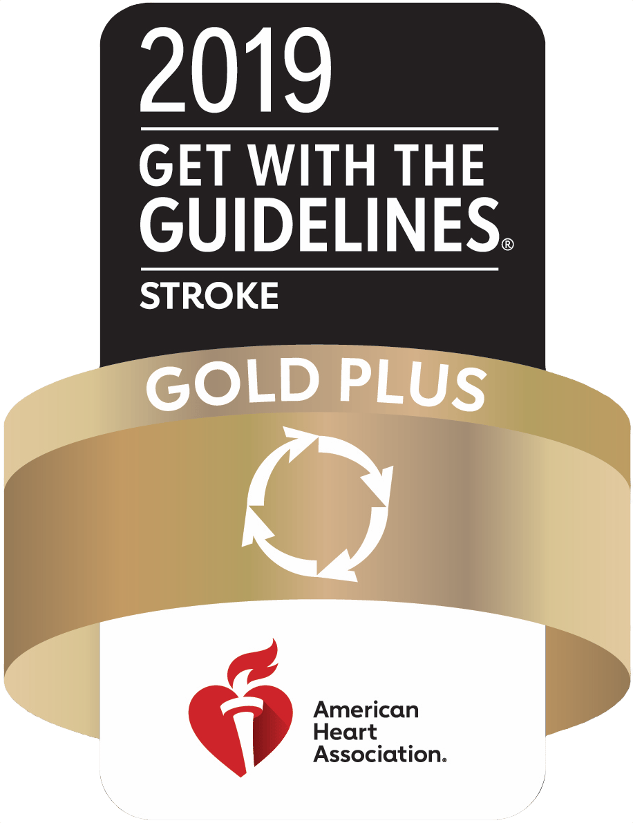 American Heart Association 2019 Stroke Gold Plus Award